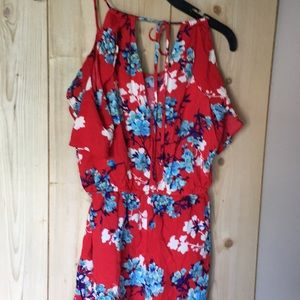 BeBop Other - Floral romper!